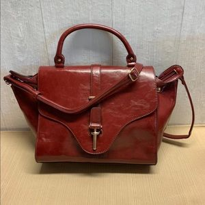 Melie Bianco Red Purse